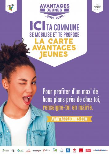 Reconduction de la Carte Avantages Jeunes à 1 euro !